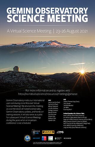 Gemini Observatory Science Meeting