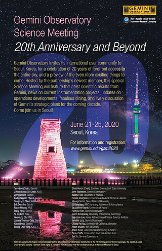Conference Poster: Gemini Observatory Science Meeting