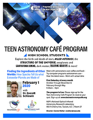 Electronic Poster: Teen Astronomy Café - February 2020