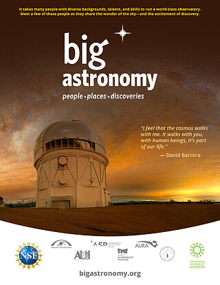 Electronic Poster: Big Astronomy