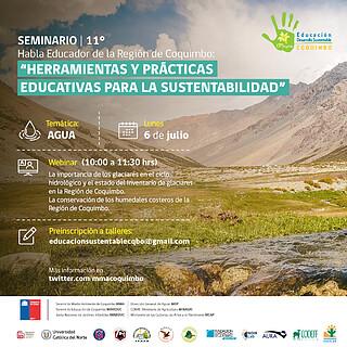 XI Seminario Habla Educador Day 1 (Chile) Agua