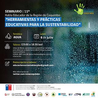 XI Seminario Habla Educador Day 1 (Chile) Workshop Agua