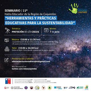 XI Seminario Habla Educador Day 2 (Chile) Protección de los Cielos