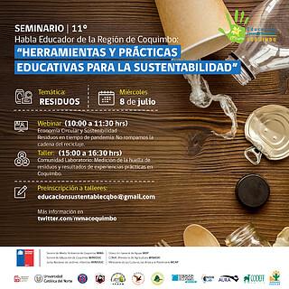 XI Seminario Habla Educador Day 3 (Chile) Residuos
