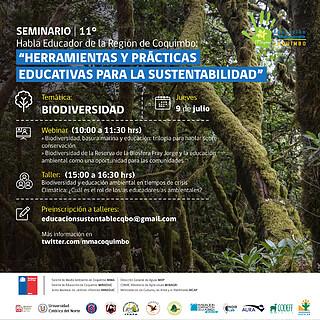 XI Seminario Habla Educador Day 4 (Chile) Workshop Biodiversidad