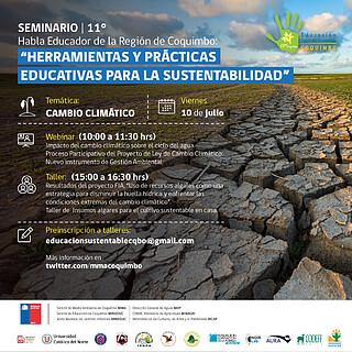 XI Seminario Habla Educador Day 5 (Chile) Cambio Climático