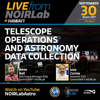 Telescope Operations and Astronomy Data Collection