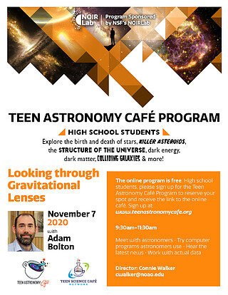 Electronic Poster: Teen Astronomy Cafe Program