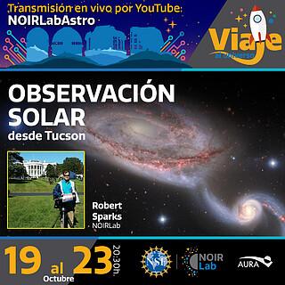 Viaje al Universo: Observación Virtual Solar