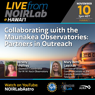 Collaborating with the Maunakea Observatories: Partners in Outreach
