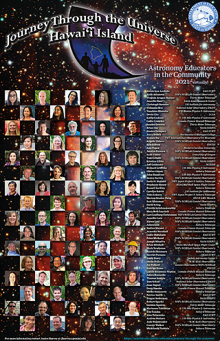 Electronic Poster: Journey Through the Universe Astronomy Educators Poster '21