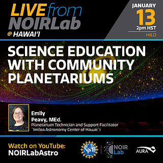 Science Education with Community Planetariums