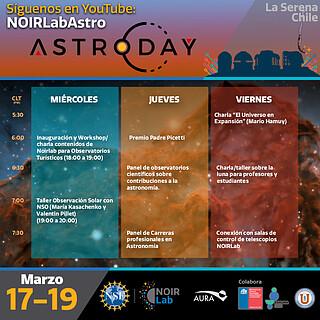 Conexión con Salas de Control / AstroDay Chile