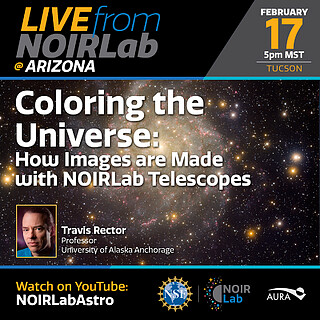 Coloring the Universe:  How Images are Made with NOIRLab Telescopes