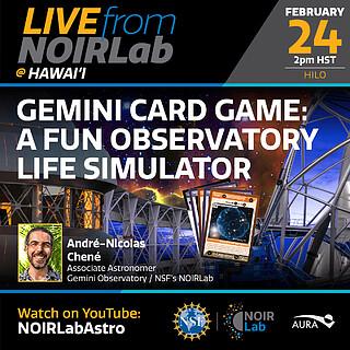 Gemini Card Game: A Fun Observatory Life Simulator