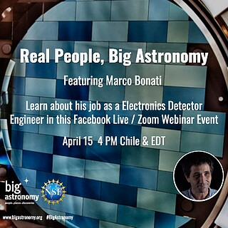 Electronic Poster: Real People, Big Astronomy