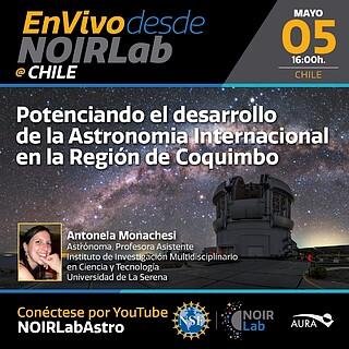 Potenciando el desarrollo de la Astronomía internacional desde la Región