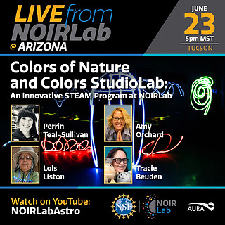 Colors of Nature/Colors StudioLab: An Innovative STEAM Program at NOIRLab