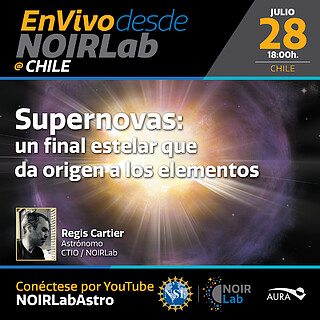Supernovas: de un final estelar y el origen de los elementos