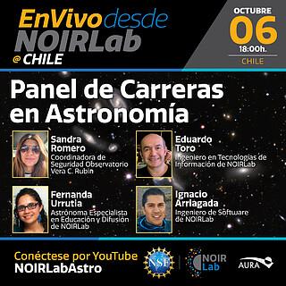Panel de Carreras en Astronomía