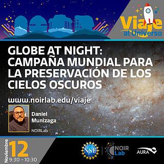 """Taller """"Globe at Night: Campaña Mundial para la preservación los cielos oscuros"""""""