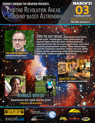 Journey through the Universe Public Talk and Stargazing
