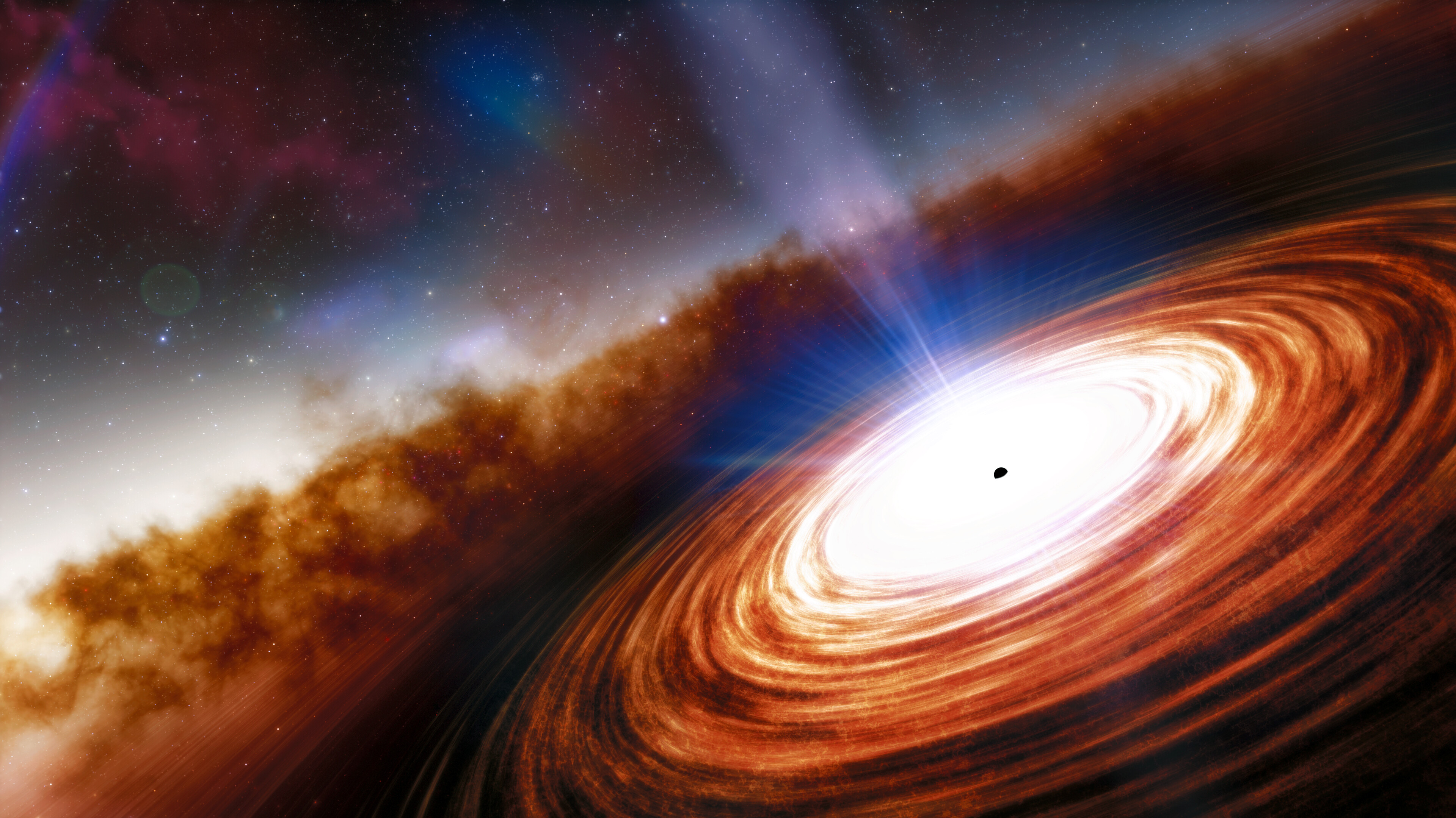 Newswise: The Earliest Supermassive Black Hole and Quasar in the Universe