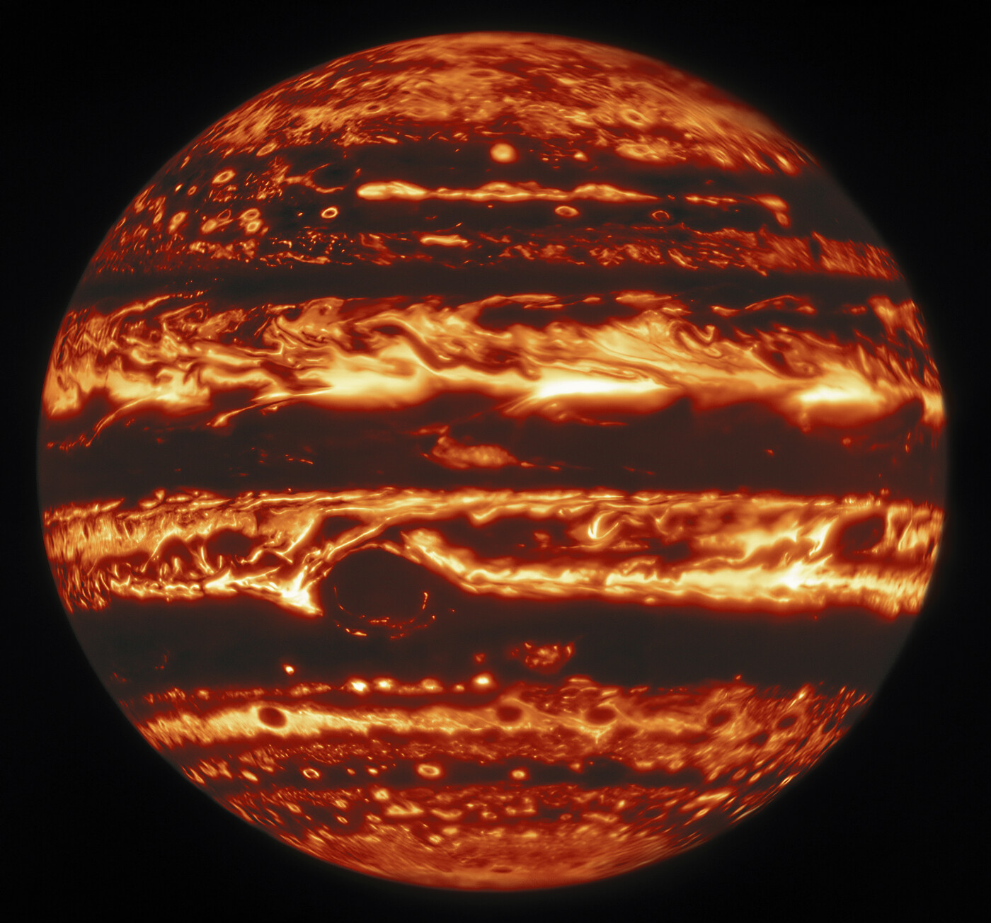 By Jove! Jupiter Shows Its Stripes and Colors