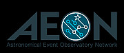 Astronomical Event Observatory Network logo