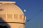 Portion of WIYN 0.9-meter Telescope at dusk