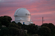 Sunset at the WIYN 0.9 Meter Telescope at Kitt Peak National Observatory