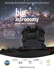 Poster for the Big Astronomy planetarium show