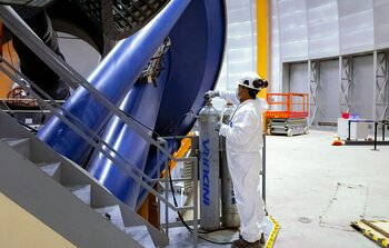 Víctor M. Blanco Telescope Maintenance