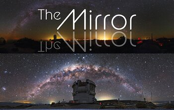 Cover of the first NOIRLab Mirror
