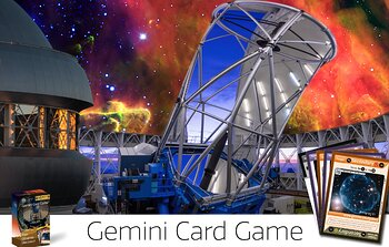 Gemini Card Game Graphic