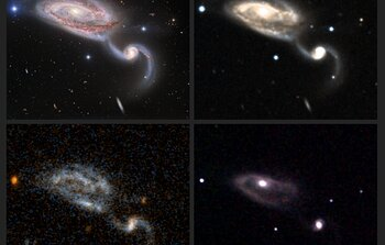 Views of Interacting Galaxies from Aladin Lite