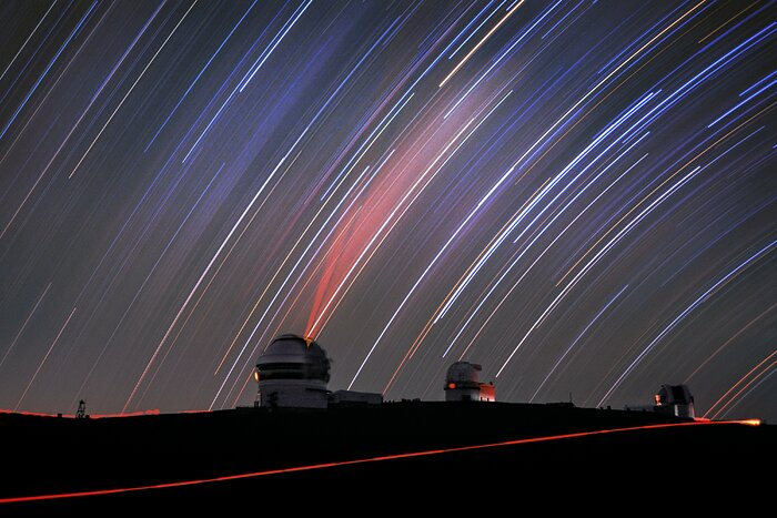 Star Trails and the Lone Twin