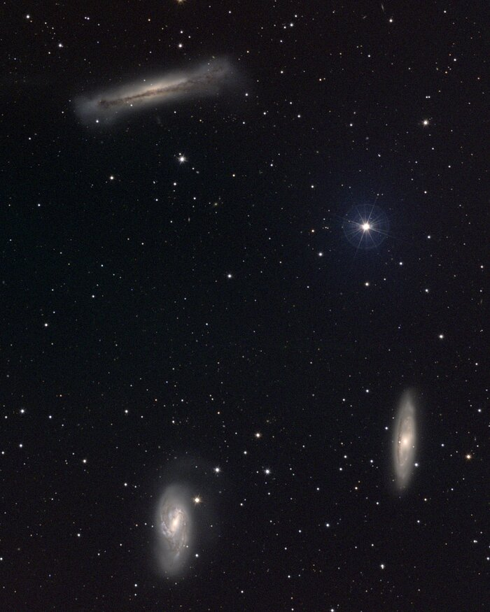 Leo Triplet (M66 group)