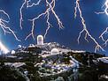 A Vintage Lightning Storm at Kitt Peak