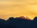 Sun Beams Over Kitt Peak