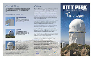 Map: Kitt Peak Visitor Center Walking Tour