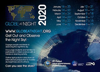 Globe at Night December 2020 Campaign