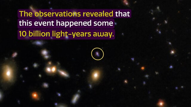 CosmoView Episode 7: Light of powerful burst captured by Gemini Observatory