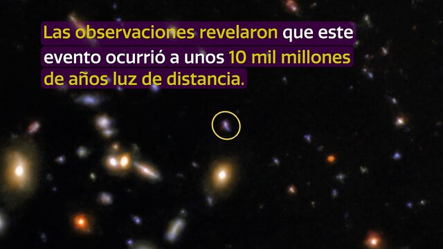 CosmoView Episode 7: Light of powerful burst captured by Gemini Observatory (Spanish)