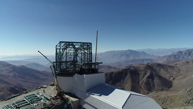 The LSST Vertical Platform Lift Completes Load Testing on the Summit