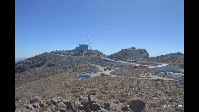 LSST Summit Facility Camera 1 - Timelapse
