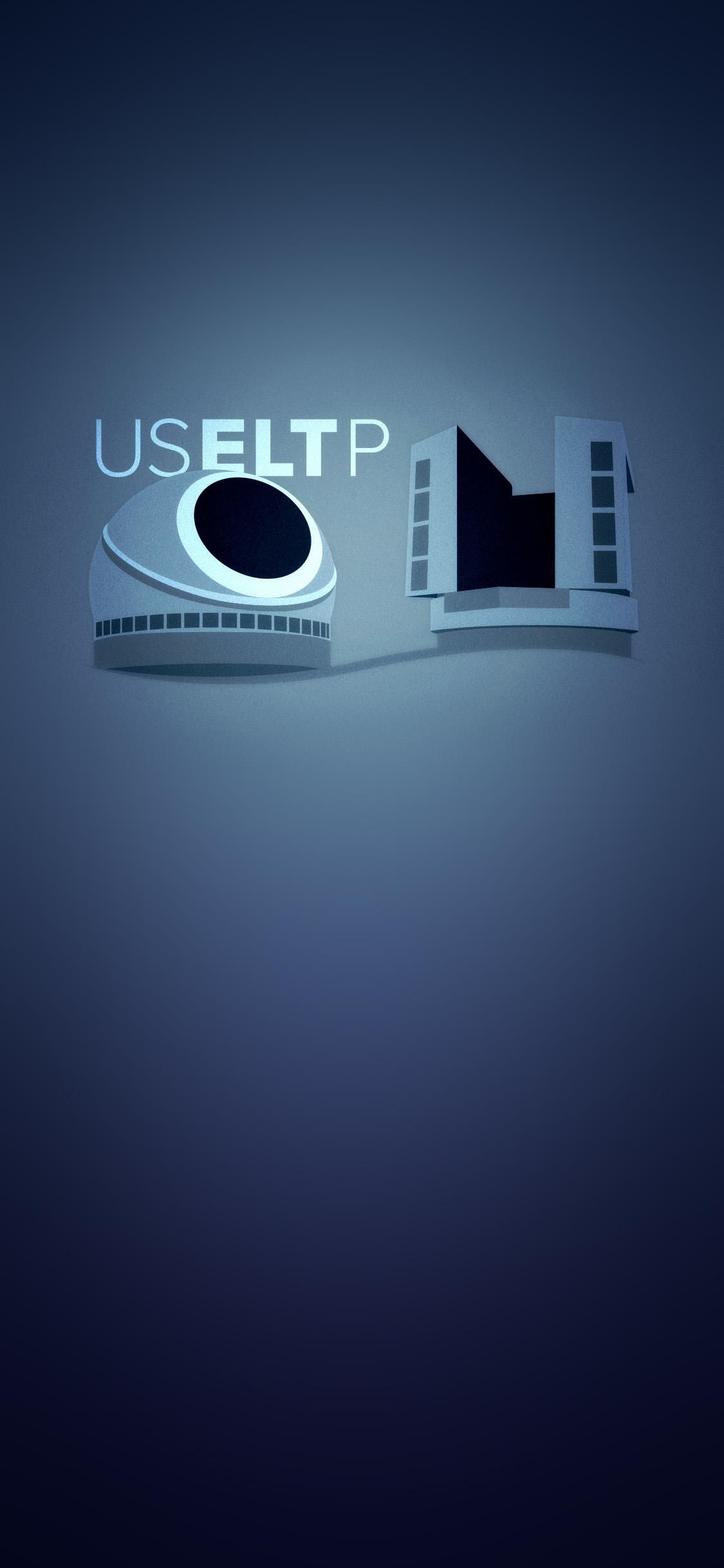 Phone Screen blue