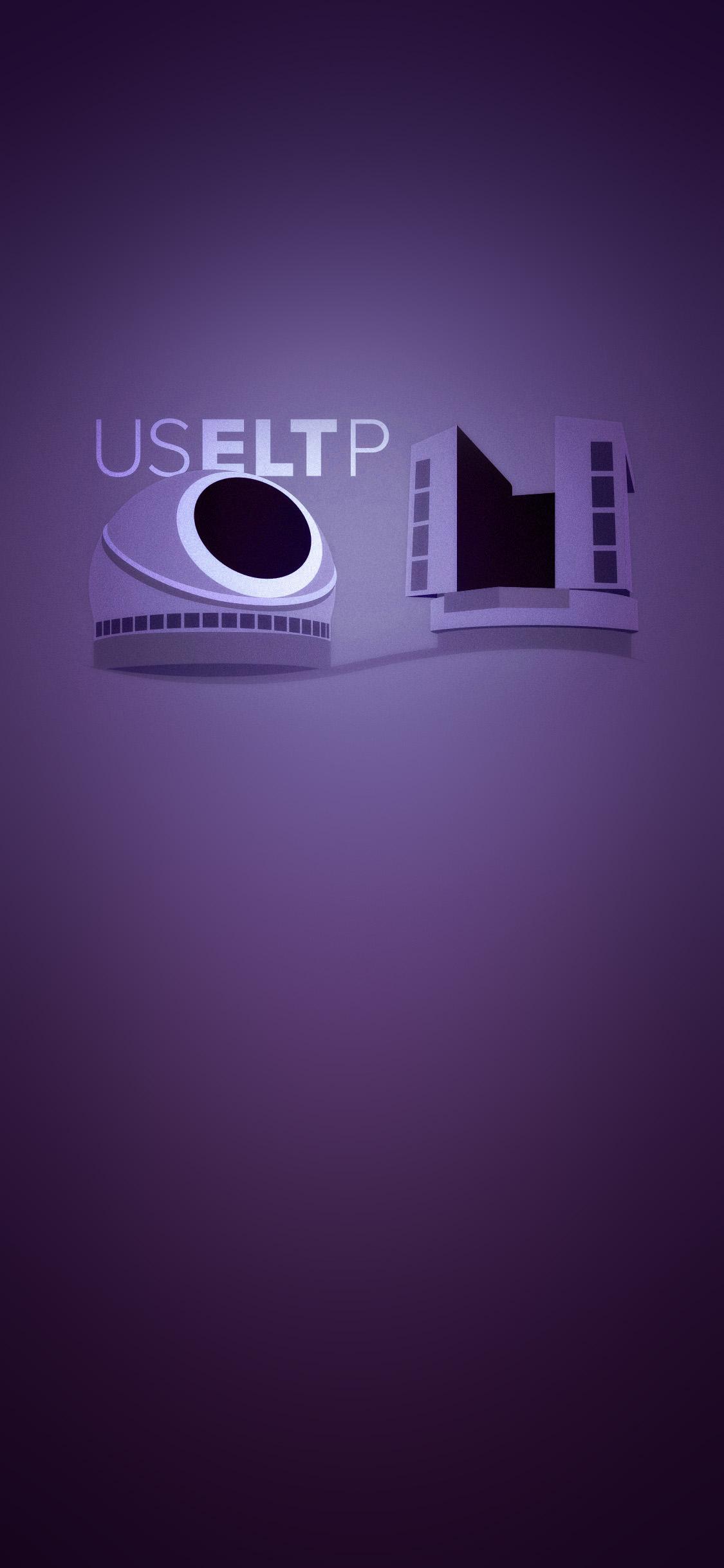 Phone Screen purple